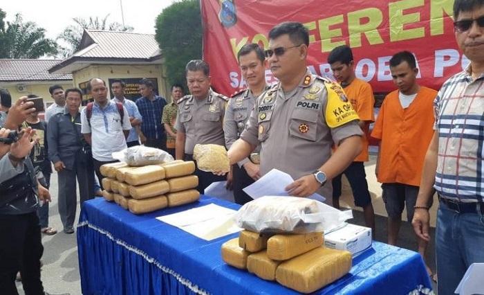 Kapolres Langkat Sebut Kurir Sabu dari Aceh Terancam Hukuman Mati