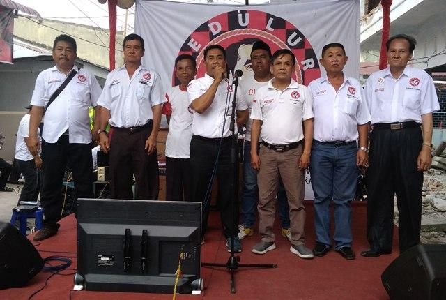 Dinilai Berhasil Tingkatkan Perekonomian, Warga Pasar V Sunggal Deklarasi Dukung Joko Widodo