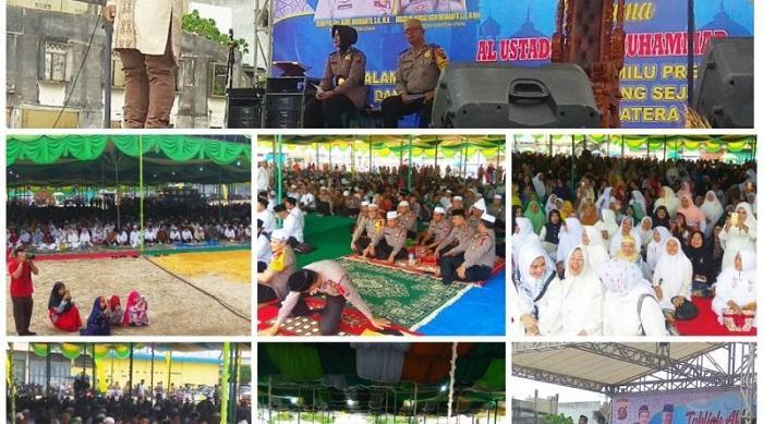 Tabligh Akbar Polres Padangsidimpuan Dihadiri Ribuan Warga