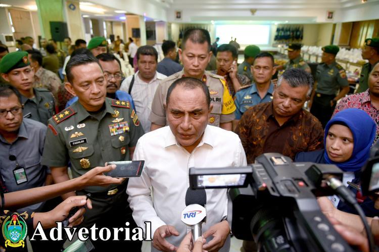 Dirgahayu Sumatera Utara, Wujudkan Sumut Bermartabat dan Sukseskan Pemilu 2019
