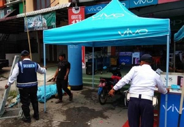Langgar Aturan, Dishub Kota Medan Lakukan Penertiban Terminal Liar dan PK-5 di Jalan SM Raja dan Dr Mansur