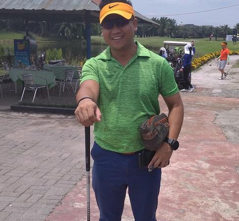 AKBP Raphael Priambodo Ikuti Turnamen Golf Piala Danlanud Soewondo 2019