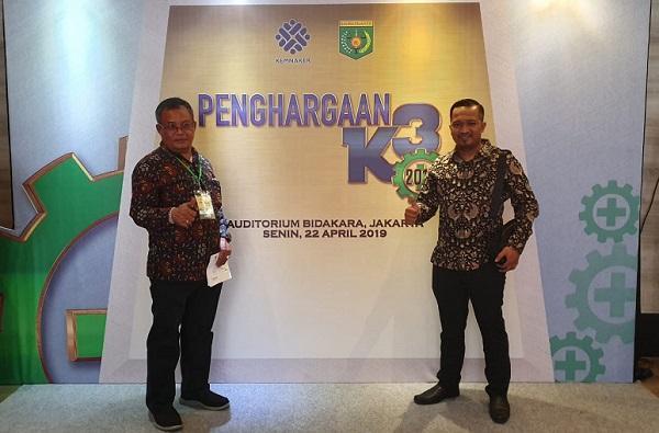 Sukses Terapkan SMK3, PT Pollung Karya Abadi Raih Penghargaan dan Apresiasi dari Kemenaker RI