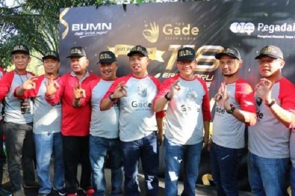 Bersama PT Pegadaian, Pemko Medan Gelar Pembersihan di Bantaran Sungai Denai