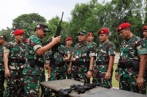 Prajurit Kopassus Momok Menakutkan Bagi Musuh Negara