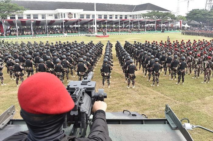 HUT ke-67 Kopassus, Panglima TNI: Kehormatan Prajurit Ditentukan Loyalitas Kepada Pimpinan