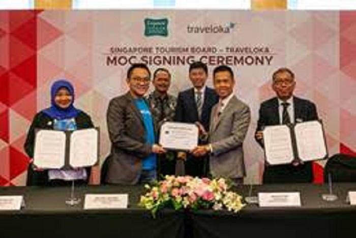 STB dan Traveloka Teken MoU Tarik Lebih Banyak Turis Asia Tenggara ke Singapura