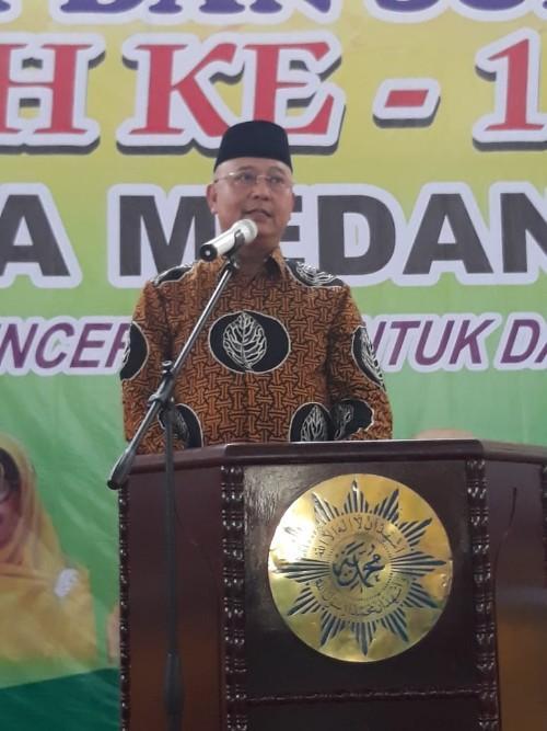 Milad ke-105 Aisyiyah, Walikota Medan: Tebarkan Cahaya Iman dan Islam