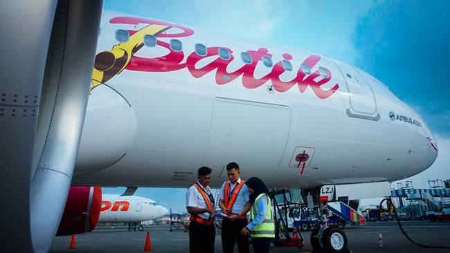 Batik Air Datangkan Pesawat Baru Airbus 320-200CEO ke-43