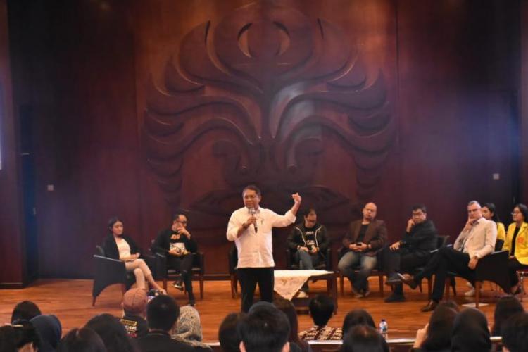 Dorong Pemanfaatan Teknologi, Menkominfo Ajak Anak Muda Genjot Prestasi Indonesia