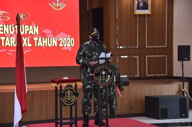 Latsitardanus XL Tahun 2020 Taruna-Taruni TNI Bantu Perangi Pandemi Covid-19