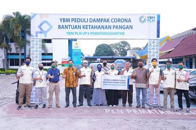 Yayasan Baitul Maal PLN UP3 Pematangsiantar Salurkan Bantuan Sembako dan Santunan Rp 99 Juta untuk Kaum Dhuafa