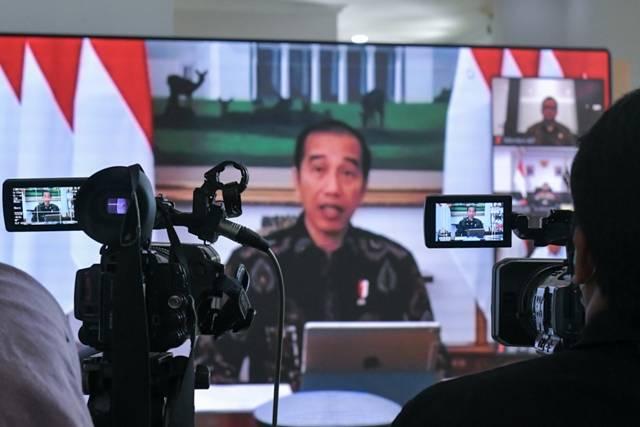 Presiden Jokowi: Pembatasan Sosial dan Lalu Lintas Masih Tahap Wajar