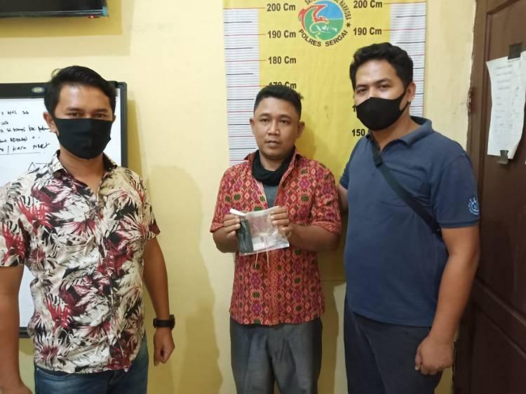 Jual Sabu, Karyawan Kebun Diciduk Polsek Teluk Mengkudu