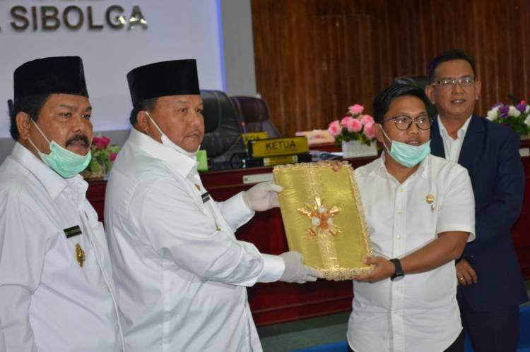 Walikota Sibolga Sampaikan LKPJ TA 2019