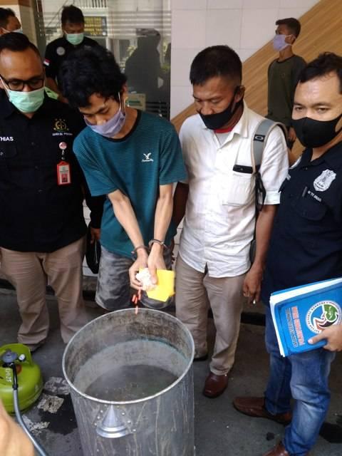 Polrestabes Medan Musnahkan Sabu dan Pil Ekstasi Senilai Rp16 Miliar