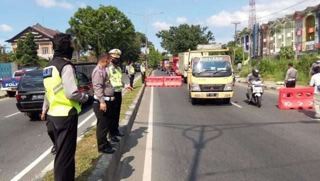 Satlantas Polrestabes Medan Gelar Operasi Ketupat 2020