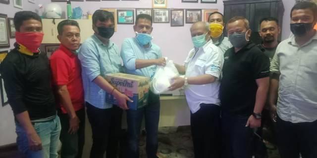 Ketua Pewarta Polrestabes Medan Gulirkan Bantuan Sembako untuk Wartawan dari Kapolda Sumut Martuani Sormin