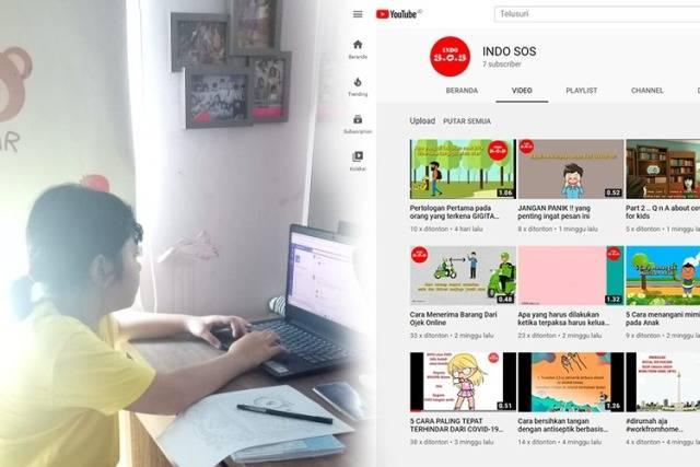 Inspirasi dari Shafira, Anak 10 Tahun yang Berkontribusi Ciptakan Konten Informasi untuk Covid-19