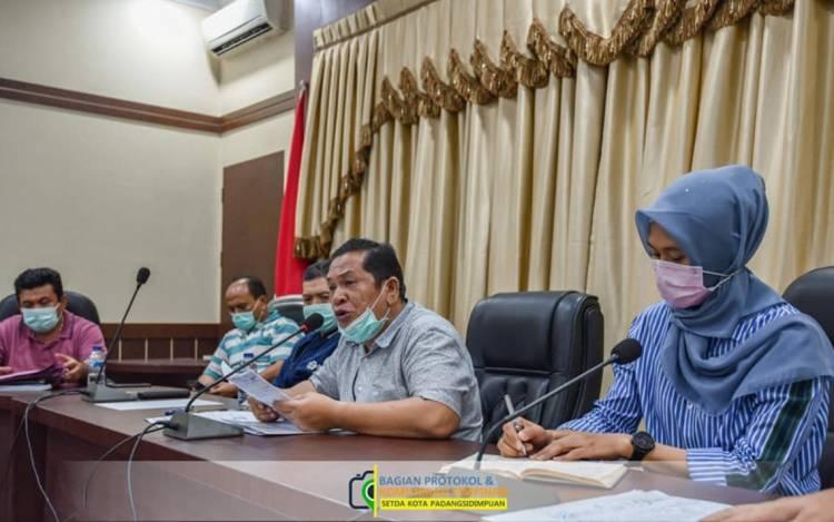 Kota Padangsidimpuan Ditetapkan Berstatus Darurat COVID-19