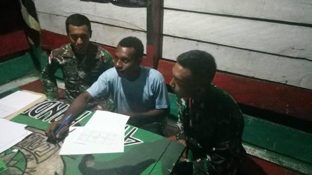Putra Papua Ingin Jadi TNI, Personel Yonif 411 Kostrad Berikan Arahan dan Pembinaan