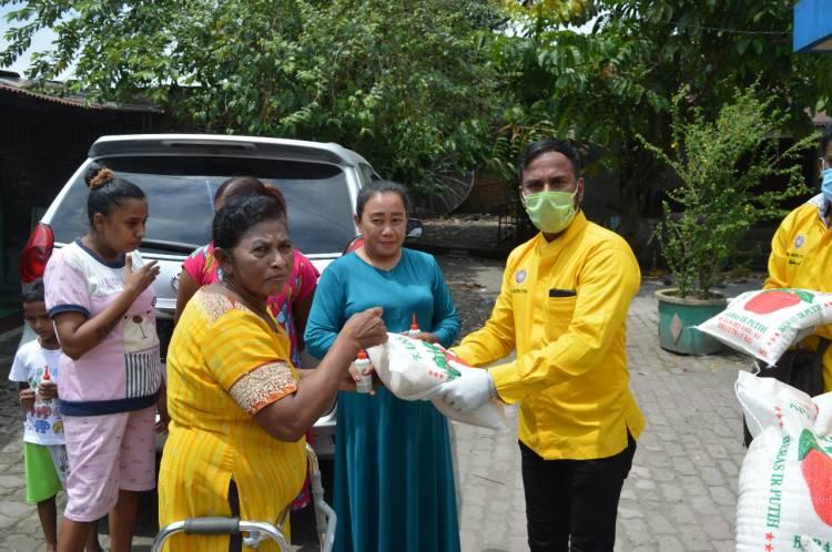 PHDI Sumut dan Medan Bagikan 1000 Botol Hand Sanitizer, 1 Ton Beras serta Penyemprotan Disinfektan