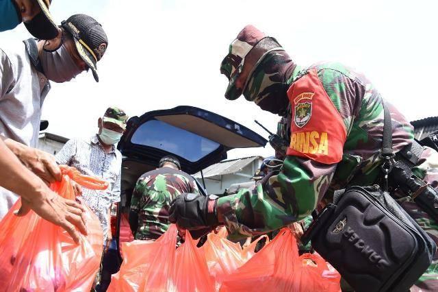 Jelang Puasa Ramadhan, Dapur Umum TNI-Polri Masih Beroperasi di Tiga Wilayah Jakarta Utara