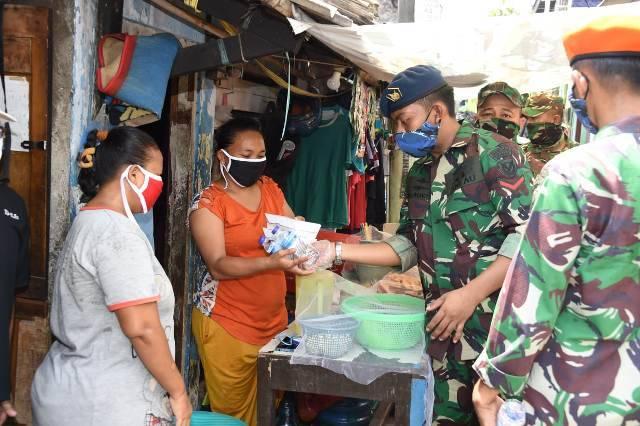 Dandim 0502/JU Harapkan Dapur Umum TNI-Polri Bantu Atasi Kesulitan Warga