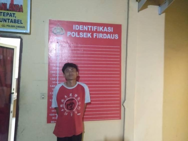 Curi Sawit, Pemuda Asal Sei Rampah Diamankan Polisi