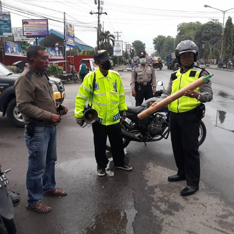 Patroli 'Asmara Subuh', Polsek Tanjung Morawa Amankan Sepeda Motor, Petasan dan Meriam
