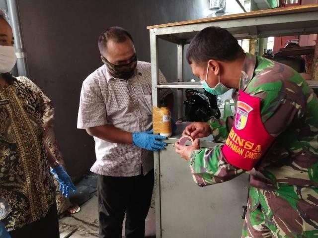Kodim Tipe A 0830/Surabaya Utara Edukasi Warga Jaga Kesehatan dan Kebersihan