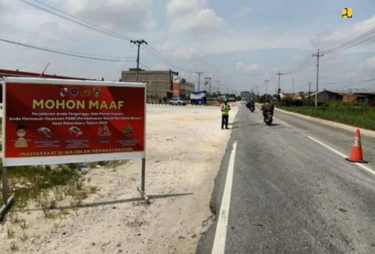 Selama PSBB, Trafic Jalan Nasional Turun 68 Persen