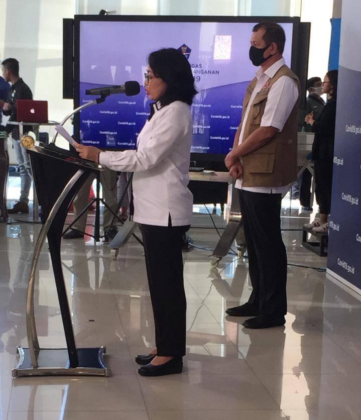 Menteri PPPA I Gusti Ayu Bintang Darmawati Sebut Kondisi Terkini 94 Perempuan dan 26 Anak Positif Covid-19