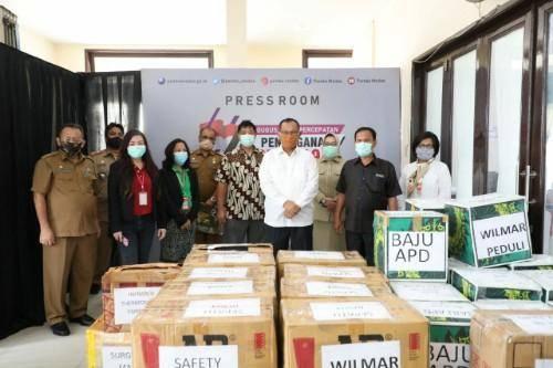 Plt Wali Kota Medan Apresiasi Bantuan APD dari Wilmar Peduli