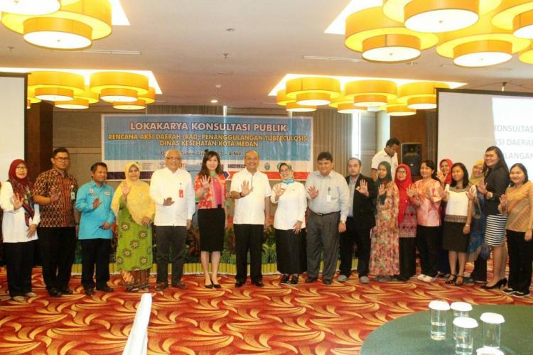 Walikota Medan Gandeng Stakeholder Kesehatan Tanggungan TB