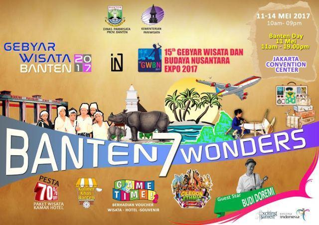 Banten 7 Wonders Siap Memikat Pengunjung GWBN 2017