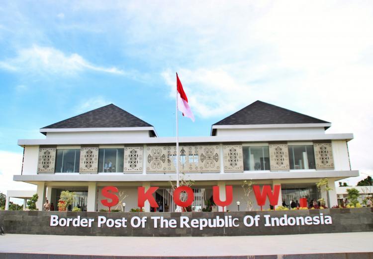 Wajah Baru Pos Lintas Batas Negara Skouw di  Jayapura Jadi Incaran Wisatawan