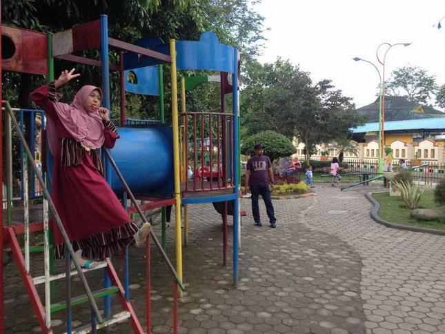 Taman Balita Kota Binjai Jadi Tujuan Wisata di Hari Libur
