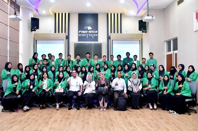 Rombongan Mahasiswa Unimal Belajar ke Biro Humas dan Keprotokolan Setdaprovsu