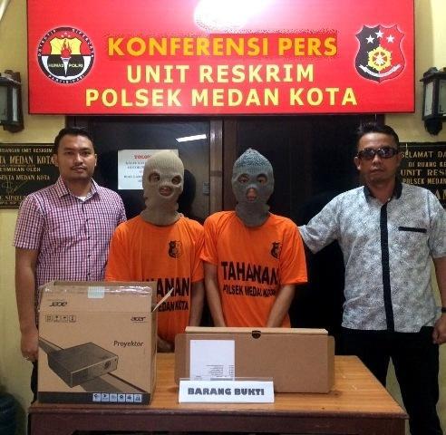 Curi Komputer di Pusda Sumut, Cecep dan Peri Ditangkap Polisi, 3 Pelaku Lain Masuk DPO