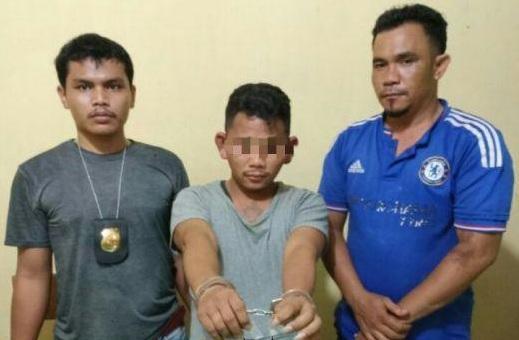 Polisi di Labuhan Batu Pesan Sabu, Pengedarnya Tak Berkutik Saat Ditangkap