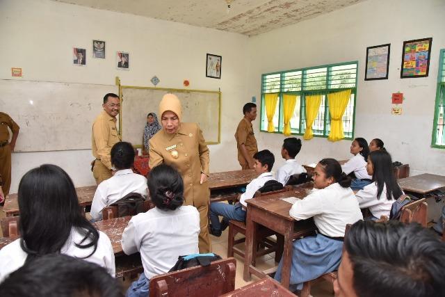 Kunjungi SMAN 2 Meranti Asahan, Wagubsu: Perbaikan Fasilitas Dilakukan Secara Bertahap