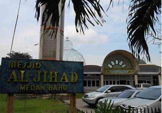 Selama Ramadhan, Sebanyak 1000 Porsi Nasi Bungkus/Hari Disiapkan Yayasan Masjid Al-Jihad