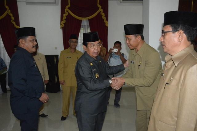 Plt Bupati Deli Serdang Lantik Pejabat Fungsional Pengawas Pemerintahan