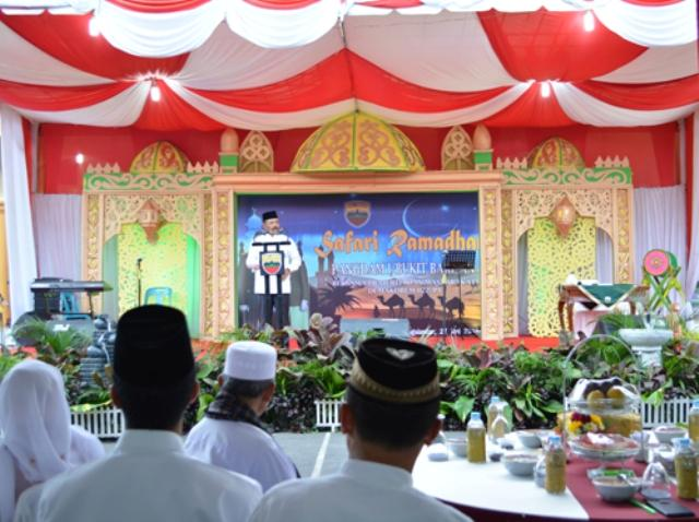 Pangdam I/BB Awali Safari Ramadan di Korem 022/PT