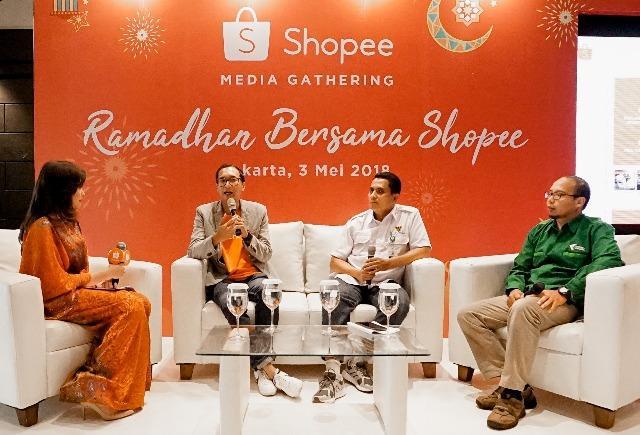 Rayakan Ramadhan, Shopee Ajak Pengguna Berbelanja dan Beramal di Bulan Suci
