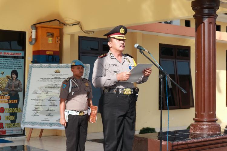Polres Simalungun Peringati Harkitnas Tahun 2018