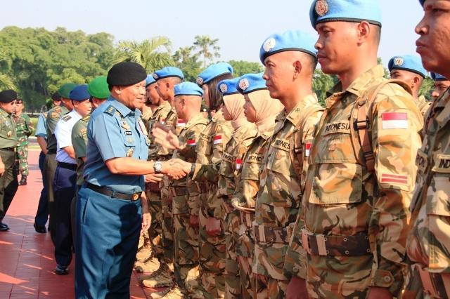 Kontingen Garuda UNAMID Berhasil Jadi Diplomat Bangsa dan Negara di Tugas Internasional