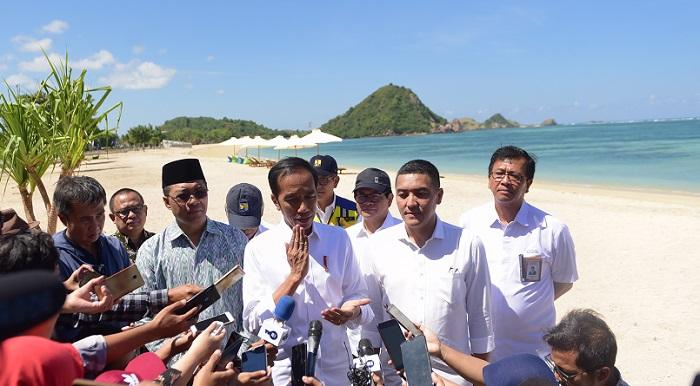 Presiden Jokowi Ingin Fasilitas MotoGP 2021 di Mandalika Rampung Tahun Depan