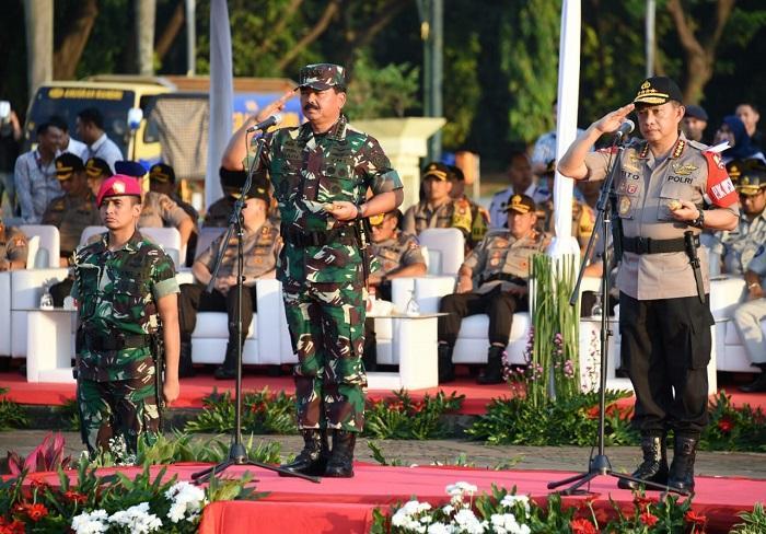 TNI/Polri Apel Gelar Pasukan Operasi Ketupat 2019